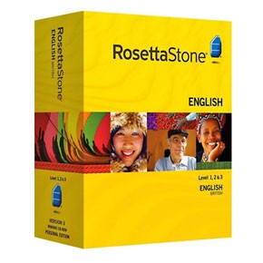 Rosetta Stone English (British) Level 1, 2, 3 Set Key