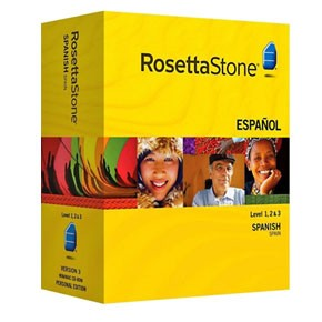 Rosetta Stone Spanish (Spain) Level 1, 2, 3, 4, 5 Set Key