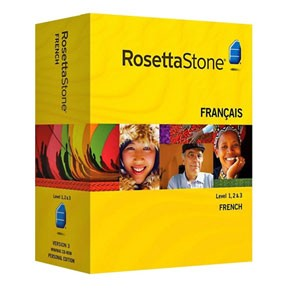 Rosetta Stone French Level 1, 2, 3, 4, 5 Set Key
