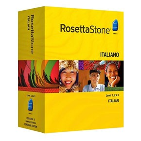 Rosetta Stone Italian Level 1, 2, 3 Set Key