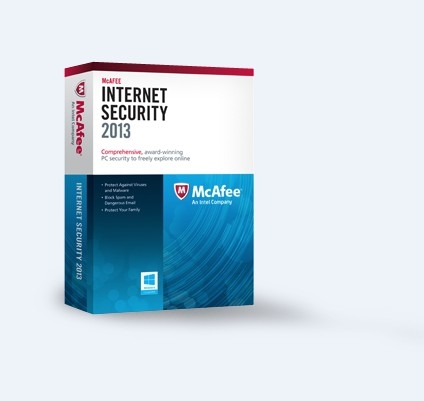 McAfee Internet Security 2013 (3PC-1Year) Key