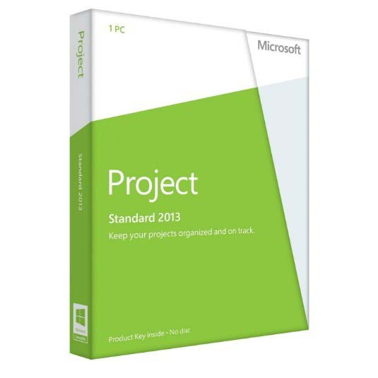 Microsoft Project Standard 2013  Key
